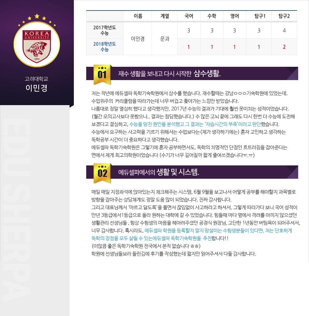고려대학교 합격후기 pc