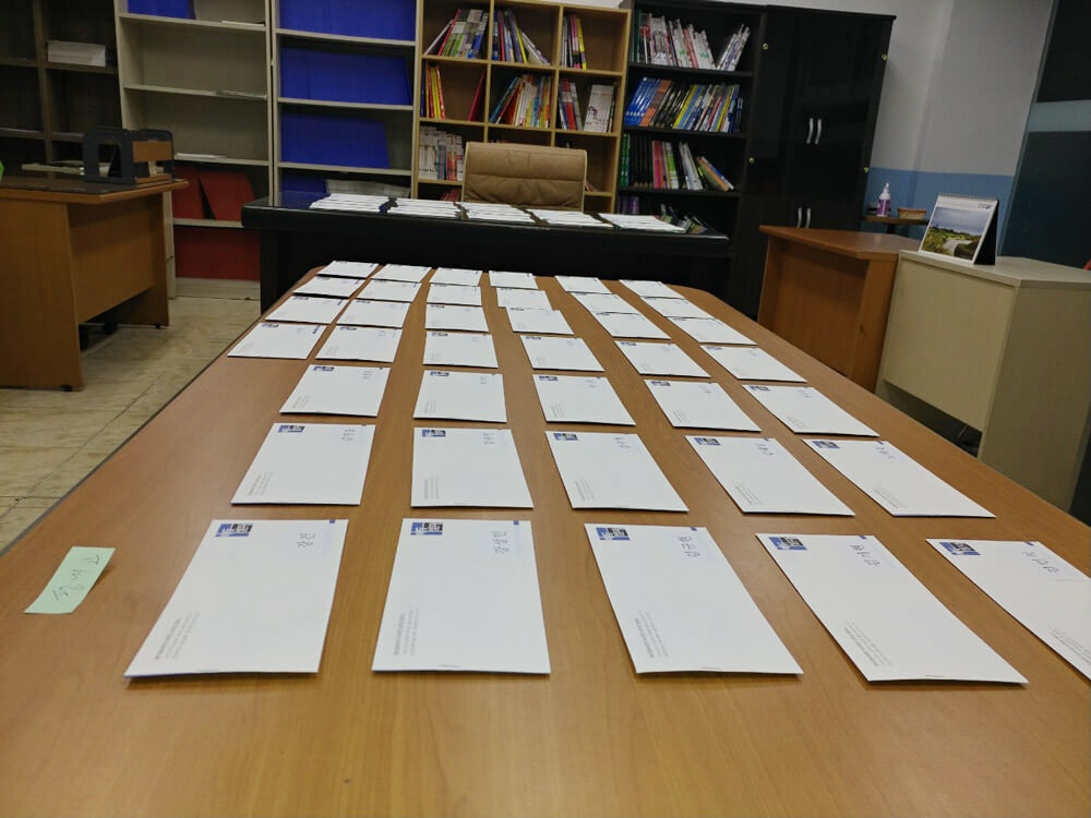수험표와 신분증