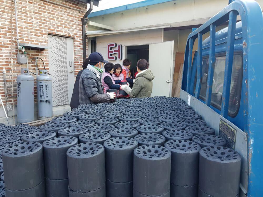연탄 배달 봉사