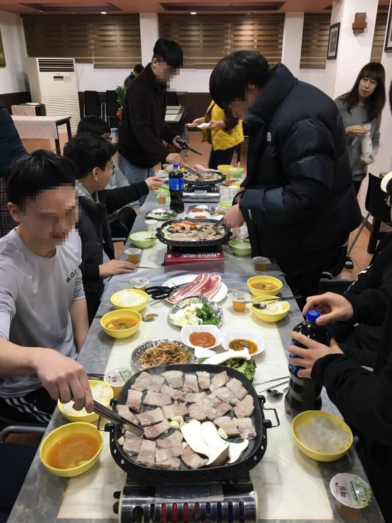 2021학년도 에듀셀파 식당